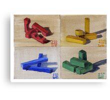 Blocks Series Print Canvas Print