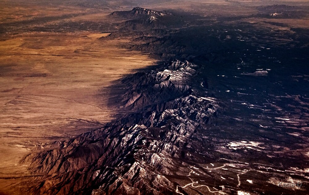 Mid West Terrain  by Kasia-D