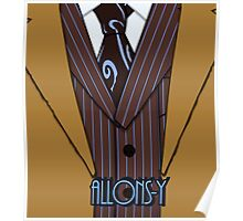 Brown Suit Poster