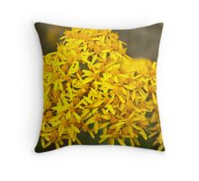 Afternoon Yellow Throw Pillow