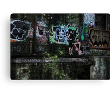 Reese and Shani Canvas Print