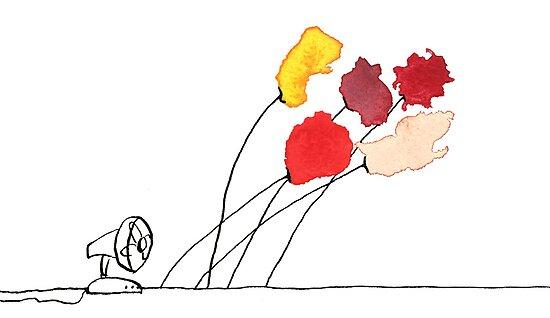 Wind Poppies - Flaprozen by JannaKool