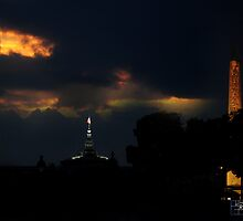 Evening @ Paris by mromero