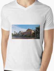 Railway Station, Tamworth, NSW, Australia Mens V-Neck T-Shirt