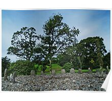 Temple Wood Stone Circle Poster
