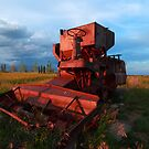 Combine harvester by zumi