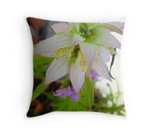 The floral merger Throw Pillow