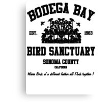 BODEGA BAY BIRD SANCTUARY Canvas Print