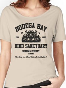 BODEGA BAY BIRD SANCTUARY Women's Relaxed Fit T-Shirt