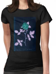 A curious herbal Elisabeth Blackwell John Norse Samuel Harding 1737 0212 The Damask Rose Inverted Womens Fitted T-Shirt