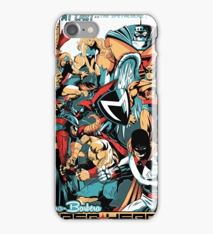 HANNA-BARBERA SUPER HEROES iPhone Case/Skin
