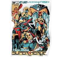 HANNA-BARBERA SUPER HEROES Poster