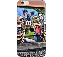 Street art by Silent Hobo in Bristol, UK iPhone Case/Skin