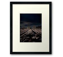 Night Rail Framed Print