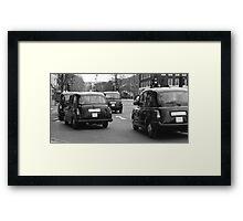 Taxi Forward  Framed Print