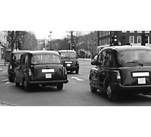 Taxi Forward  Photographic Print
