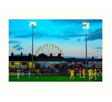 Villarreal Vs Bray Wanderers Art Print