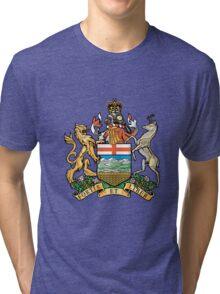 Coat of Arms Alberta Tri-blend T-Shirt