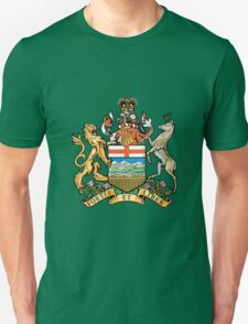 Coat of Arms Alberta Unisex T-Shirt