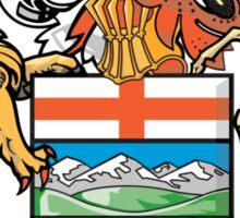Coat of Arms Alberta Sticker