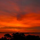 Tonight's Coffin Bay sunset by Ian Berry