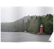 Point Lighthouse Poster