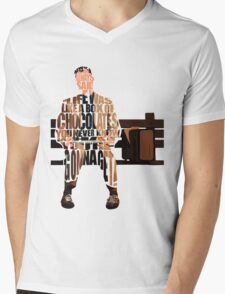 Forrest Gump Mens V-Neck T-Shirt
