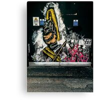 Shoreditch street art Canvas Print