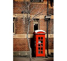 Red Telephone Box, The Rocks, Sydney Photographic Print