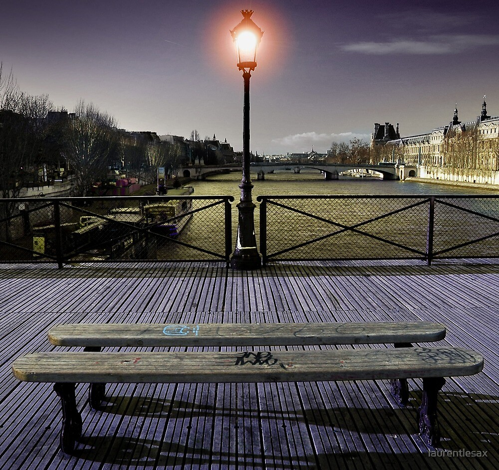 Pont des arts by Laurent Hunziker