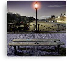 Pont des arts Canvas Print