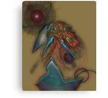Abstract Eggshell 0 Canvas Print