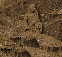 DEPLICTION OF...Jack Sparrow (Johnny Depp) from Pirates of the Caribbean sand sculpture .JOURNAL-.PILLOW--TOTEBAG--PICTURE - PRINTS- POSTERS ECT.. by ✿✿ Bonita ✿✿ ђєℓℓσ