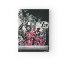 Shoreditch street art Hardcover Journal