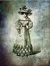 FASHIONABLE LADIES WALKING DRESS 1826 by Tammera