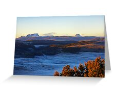 Sunrise Over Cradle Mountain Greeting Card