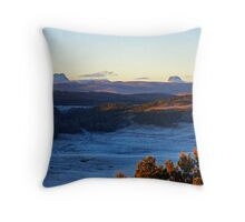 Sunrise Over Cradle Mountain Throw Pillow