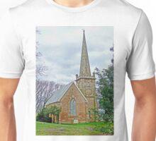 St Andrews Uniting Church, Campbell Town, Tasmania, Australia Unisex T-Shirt