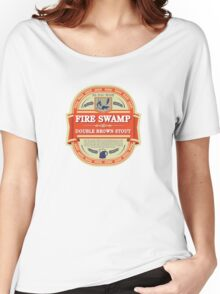 Fire Swamp Double Brown Stout Women's Relaxed Fit T-Shirt