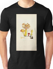 Coloured figures of English fungi or mushrooms James Sowerby 1809 0985 Unisex T-Shirt