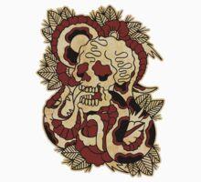 Skull & Snake by chuckcarvalho