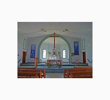 Interior, St Marys Church, Goondiwindi, Qld, Australia Unisex T-Shirt