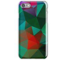 Green Polygon Art iPhone Case/Skin