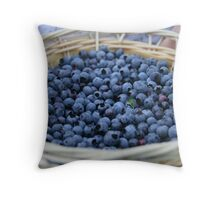 Blueberry Throw Pillow