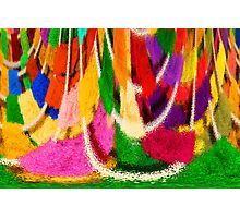 Washday Colours Photographic Print