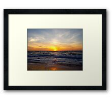 Sunrise Soul Framed Print