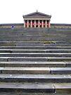 Steps into History -- Philadelphia Art Museum by John Carpenter