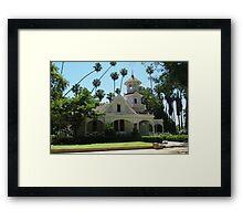Queen Anne Cottage Framed Print