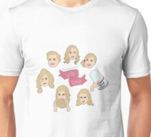The Many Faces of Leslie Knope Unisex T-Shirt