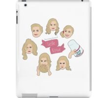 The Many Faces of Leslie Knope iPad Case/Skin